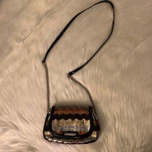Nine West multicolored design crossbody purse bag
